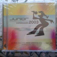 CDs de Música: CD DVD OFICIAL DEL FESTIVAL EUROVISIÓN JUNIOR 2003 (NUEVO PRECINTADO) 17 TEMAS ESPAÑA (LEER ANUNCIO). Lote 70219286