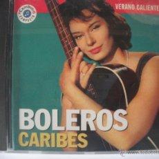 CDs de Música: MAGNIFICO CD - VERANO CALIENTE - BOLEROS - CARIBES -. Lote 48983086