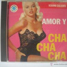 CDs de Música: MAGNIFICO CD - VERANO CALIENTE - AMOR Y - CHA CHA - CHA -. Lote 48983129