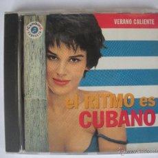 CDs de Música: MAGNIFICO CD - VERANO CALIENTE - EL RITMO - ES - CUBANO -. Lote 48983236