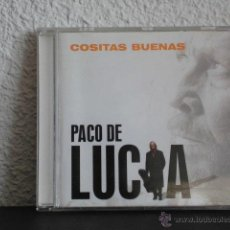 CDs de Música: PACO DE LUCIA CD COSITAS BUENAS. Lote 48997611