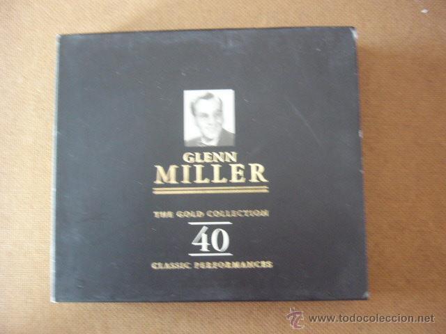 GLENN MILLER. THE GOLD COLLECTION 40. 2 CD CON ESTUCHE. (Música - CD's Jazz, Blues, Soul y Gospel)