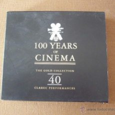 CDs de Música: 100 YEARS OF CINEMA. THE GOLD COLLECTION 40.. Lote 49013481
