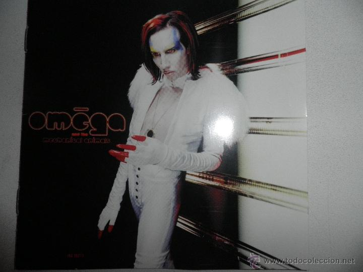 MARILIN MANSON - OMEGA -MECHANICAL ANIMALS CD, ALBUM 1998 (Música - CD's Rock)