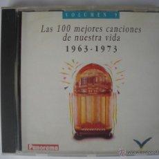 CDs de Música: MAGNIFICO CD DE LAS - 100 MEJORES CANCIONES DE NUESTRA VIDA- DESDE EL AÑO 1963- 1973- VOLUMEN -3-. Lote 49015753
