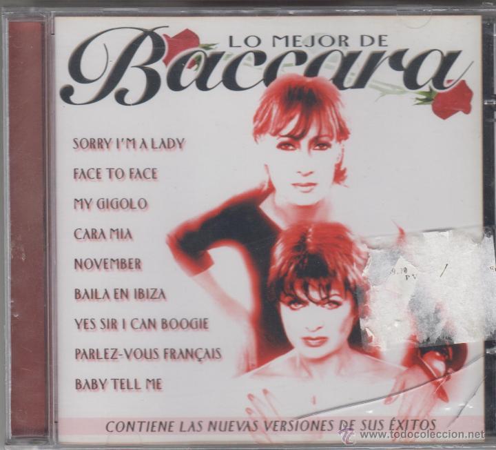 BACCARA CD LO MEJOR DE BACCARA 15 TEMAS 2000 NUEVAS VERSIONES (PRECINTADO) (Música - CD's Pop)