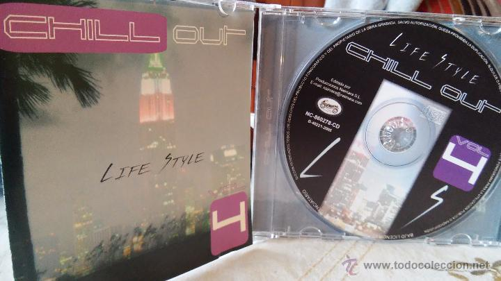 C. TAULS & S. HACKMANN - LIFE STYLE (CHILL OUT. VOL. 4) - CHILL OUT / NEW AGE (Música - CD's New age)