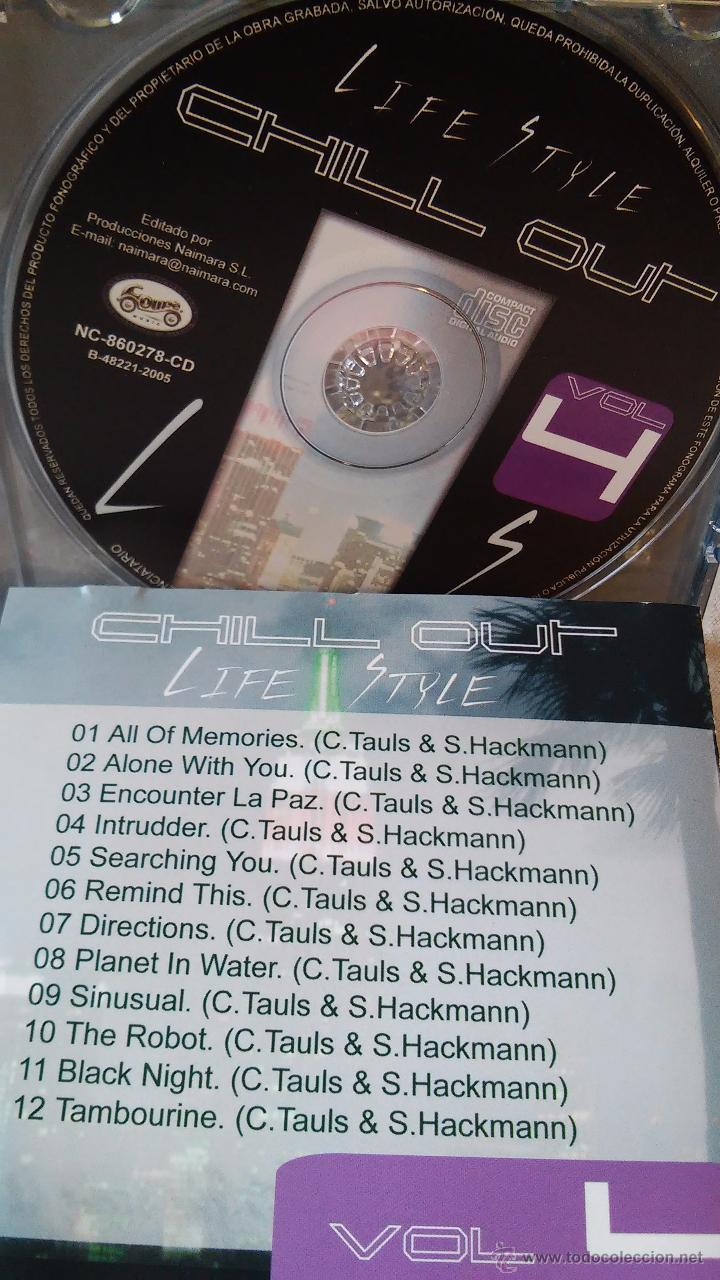 CDs de Música: C. TAULS & S. HACKMANN - Life Style (Chill Out. Vol. 4) - chill out / new age - Foto 2 - 49021375