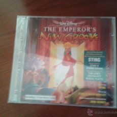 CDs de Música: CD NUEVO PRECINTADO BSO CON TOM JONES STING CINE THE EMPEROR'S NEW GROOVE WALT DISNEY TRAILER. Lote 49022331
