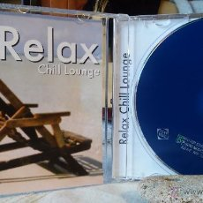 CDs de Música: PETE DUMN & MARTY STONE - RELAX - CHILL LOUNGE - CD - NEW AGE / LOUNGE / CHILL OUT. Lote 49022526