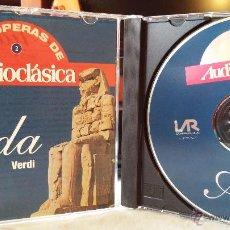 CDs de Música: VERDI - AIDA (CD Nº 2) - ÓPERA / CLÁSICA / BELL CANTO. Lote 49022684