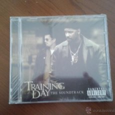 CDs de Música: CD NUEVO PRECINTADO BSO BANDA SONORA ORIGINAL CINE TRAINING DAY DENZEL WASHINGTON. Lote 49024108
