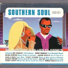 CDs de Música: VARIOS - SOUTHER SOUL. 66 RHYTHM & BLUES CLASSICS (3 CD SET PRISM LEISURE). Lote 49037258