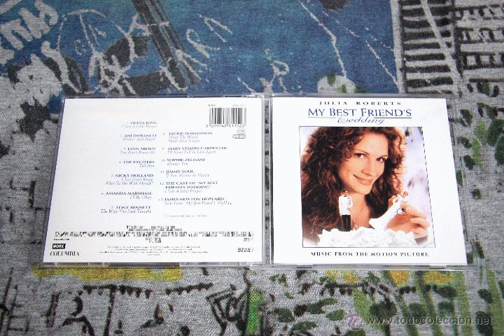 My Best Friend S Wedding Soundtrack.My Best Friend S Wedding Music From The Motion Picture Soundtrack 488115 2 Cd