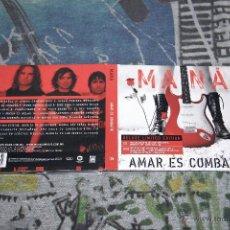 CDs de Música: MANÁ - AMAR ES COMBATIR - CD + DVD - DELUXE LIMITED EDITION - LC 00392. Lote 49049360