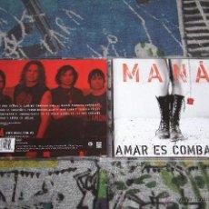 CDs de Música: MANÁ - AMAR ES COMBATIR - WARNER MUSIC - 2564636612 - CD. Lote 49049367