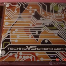 CDs de Música: TECHNO VS BREAKBEAT. BRUTON MUSIC CD EDICION EXTRANJERA. Lote 49057616