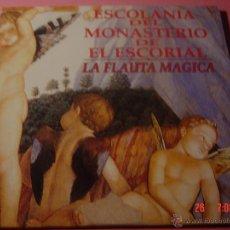 CDs de Música: ESCOLANIA DEL MONASTERIO DE EL ESCORIAL. LA FLAUTA MAGICA. EMI CLASSICS CD PROMOCIONAL. Lote 49057722