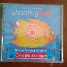 CDs de Música: CD NUEVO PRECINTADO BSO BANDA SONORA ORIGINAL CINE SHOOTING FISH COMO PEZ EN EL AGUA. Lote 49073037