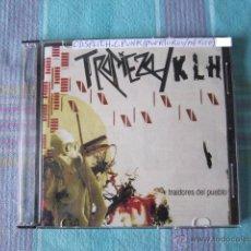 CDs de Música: CD - SPLIT H.C. PUNK - TROPIEZO Y KLH (TRAIDORES DEL PUEBLO) - 2008. Lote 49097558