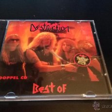 CDs de Música: DESTRUCTION - THE BEST OF DESTRUCTION - 2 CD'S. Lote 49097635