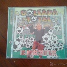 CDs de Música: CD NUEVO PRECINTADO GOLEADA TOTAL LOS MAYORES PELOTAZOS MIX RECOPILACIÓN MÚSICA BAILE DANCE. Lote 49106017