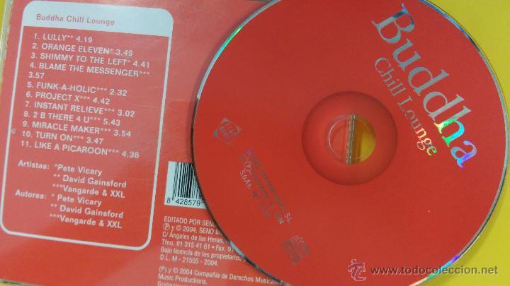 CDs de Música: P. VICARY, D. GAINSGFORD, VANDARDE & XXL - Buddha - Chill Lounge - Foto 2 - 49108195