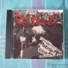 CDs de Música: CD - PUNK ROCK 80'S - DESVIADOS - IMPORTACIÓN MÉXICO. Lote 49114985