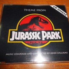 CDs de Música: JURASSIC PARK JOHN WILLIAMS BANDA SONORA CD SINGLE AÑO 1993 ALEMANIA 2 TEMAS. Lote 49129466