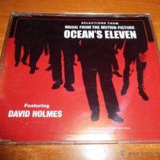 CDs de Música: OCEAN´S ELEVEN DAVID HOLMES BANDA SONORA CD SINGLE PROMO 2001 4 TEMAS. Lote 49129646