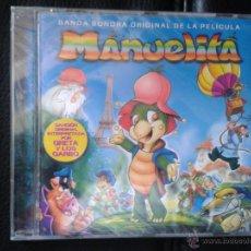 CDs de Música: CD NUEVO PRECINTADO BSO BANDA SONORA (LEER ANUNCIO) DIBUJOS ANIMADOS MANUELITA GRETA Y LOS GARBO. Lote 105725967