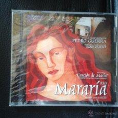 CDs de Música: CD NUEVO PRECINTADO BSO BANDA SONORA ORIGINAL CINE ESPAÑOL MARARÍA PEDRO GUERRA. Lote 52157760