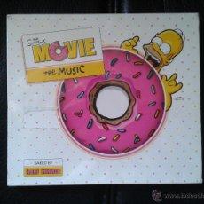 CDs de Música: CD NUEVO PRECINTADO BSO BANDA SONORA ORIGINAL CINE THE SIMPSONS MOVIE THE MUSIC HANS ZIMMER. Lote 49146154