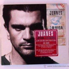 CDs de Música: JUANES - LA VIDA...ES UN RATICO (CD+DVD) LIMITED DELUXE EDITION. Lote 49157210