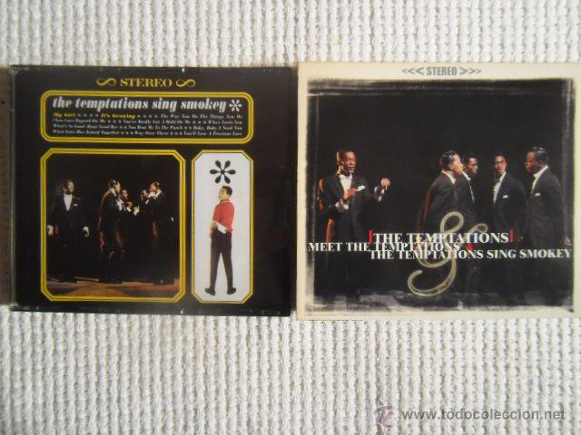 CDs de Música: THE TEMPTATIONS - MEET THE TEMPTATIONS / THE TEMPTATIONS SING SMOKEY CD 2 ALBUMS - Foto 1 - 49158103