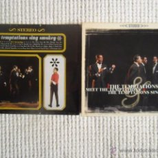 CDs de Música: THE TEMPTATIONS - '' MEET THE TEMPTATIONS / THE TEMPTATIONS SING SMOKEY '' CD 2 ALBUMS. Lote 49158103