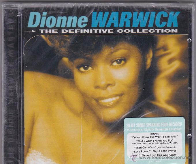 DIONNE WARWICK - THE DEFINITIVE COLLECTION - PRECINTADO (Música - CD's Jazz, Blues, Soul y Gospel)