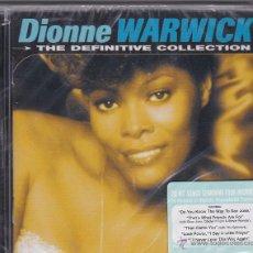 CDs de Música: DIONNE WARWICK - THE DEFINITIVE COLLECTION - PRECINTADO. Lote 49175087