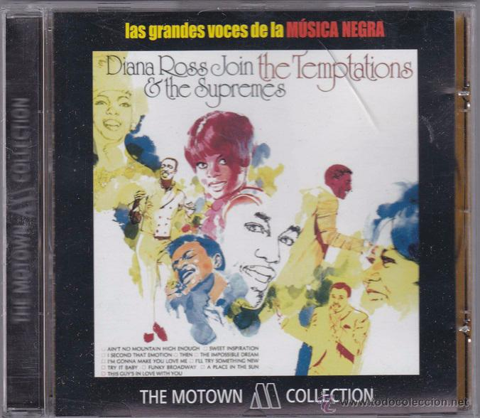 DIANA ROSS & THE SUPREMES JOIN THE TEMPTATIONS (Música - CD's Jazz, Blues, Soul y Gospel)