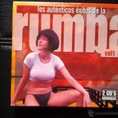 CDs de Música: 2 CD NUEVOS PRECINTADOS LOS AUTÉNTICOS ÉXITOS DE LA RUMBA VOL 1 JUAN VALLADARES BORDÓN. Lote 49185430