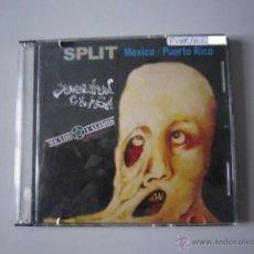 CDs de Música: CD - SPLIT - PUNK H.C. - JUVENTUD CRASA Y MENOS VÁLIDOS. IMPORTACIÓN PUERTO RICO.. Lote 49199446
