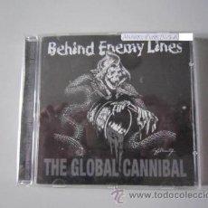 CDs de Música: CD - ANARCOPUNK - BEHIND ENEMY LINES (THE GLOBAL CANNIBAL) - 2003 - REEDICIÓN. Lote 49212330