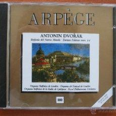 CDs de Música: ANTONIN DVORAK: SINFONIA DEL NUEVO MUNDO, DANZAS ESLAVAS – CD ARPEGE ARPEGIO. Lote 49213091