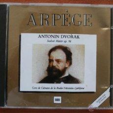 CDs de Música: ANTONIN DVORAK: STABAT MATER OP. 58 – CD ARPEGE ARPEGIO. Lote 49213131