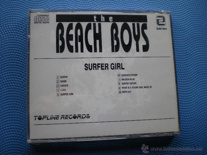CDs de Música: THE BEACH BOYS SURFER GIRL CD ALBUM PRECINTADO - Foto 2 - 49216791