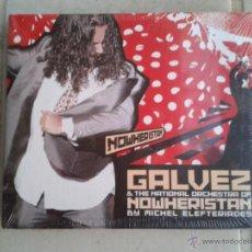 CDs de Música: CD LIBRETO NUEVO PRECINTADO GALVEZ & THE NATIONAL ORCHESTRA OF NOWHERISTAN Y MICHEL ELEFTERIADES. Lote 49219660