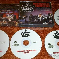 CDs de Música: OZZY OSBOURNE 2 NIGHT IN EUROPE 2007 BOX...BLACK SABBATH . Lote 49227871