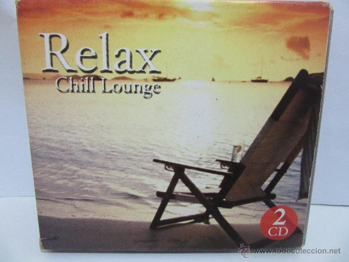 RELAX - CHILL LOUNGE - 2 X CD - 2004 - SEND MUSIC - EX+/EX- (Música - CD's New age)