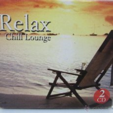 CDs de Música: RELAX - CHILL LOUNGE - 2 X CD - 2004 - SEND MUSIC - EX+/EX-. Lote 49254610