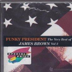 CDs de Música: JAMES BROWN - FUNKY PRESIDENT - THE VERY BEST OF - VOL 2 - PRECINTADO. Lote 49255317